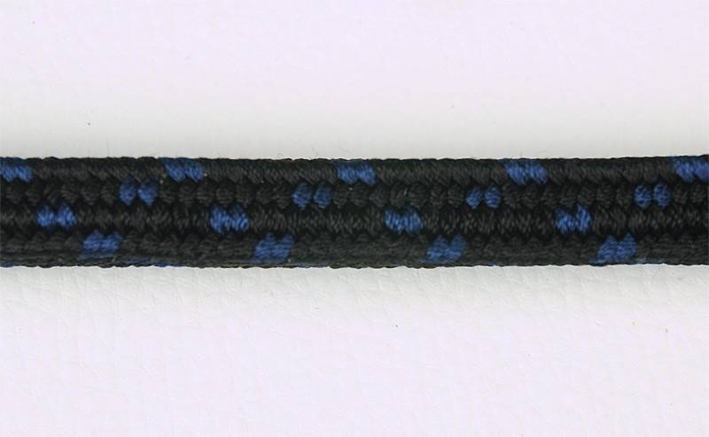 Negro puntos azules
