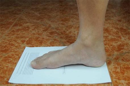 Patrón de los pies